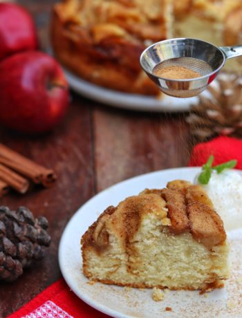 Spiced Apple Cinnamon Cake