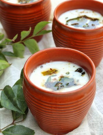 Masala Chaas or Spiced Buttermilk