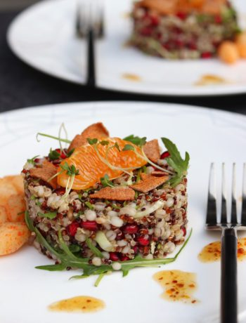 Healthy Barley and Quinoa Salad