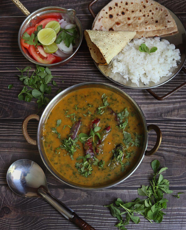 Methi Ki Daal or Sweet n Sour Lentils with Fenugreek