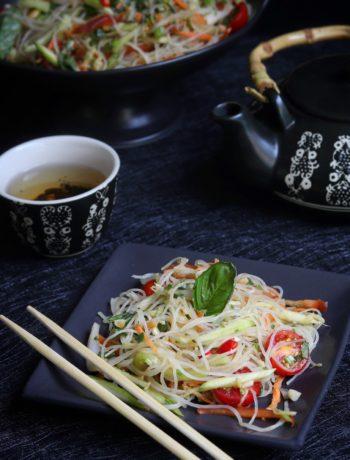 Thai Glass Noodle & Green Raw Mango Salad