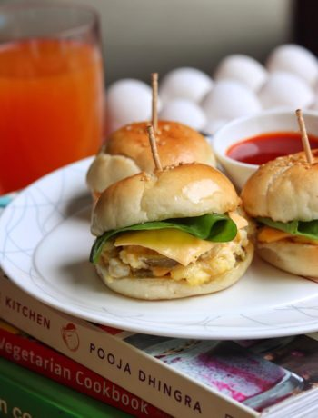 Scrambled Egg Breakfast Sliders