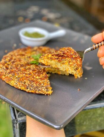 Green Moong Dal Rosti