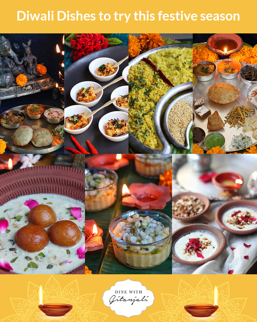 Diwali dishes